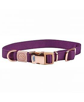 WeatherBeeta Elegance Dog Collar Purple