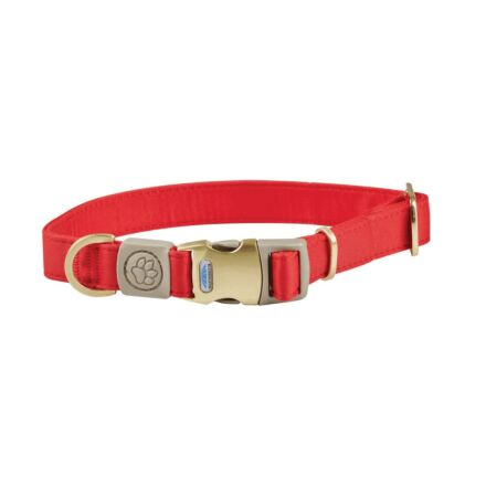 WeatherBeeta Elegance Dog Collar Red