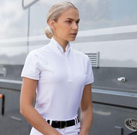 Equetech Ella Competition Shirt White