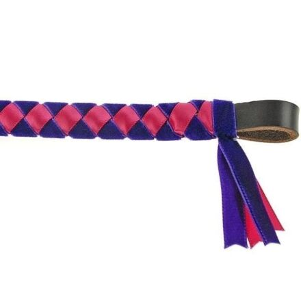Showquest Browband Epsom Purple/ Cerise