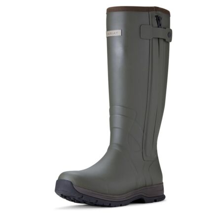 Ariat MEN'S Burford Insulated Zip Rubber Boot-Olive
