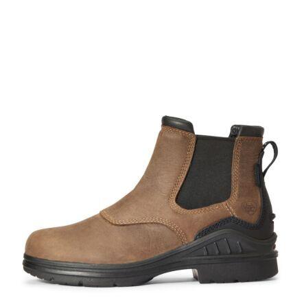 Ariat Barnyard Twin Gore II Waterproof Boot - Antique Brown