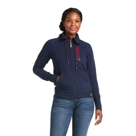 Ariat Women's Team Logo Full Zip Sweatshirt