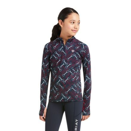 Ariat Youth Lowell 2.0 1/4 Zip Team Print
