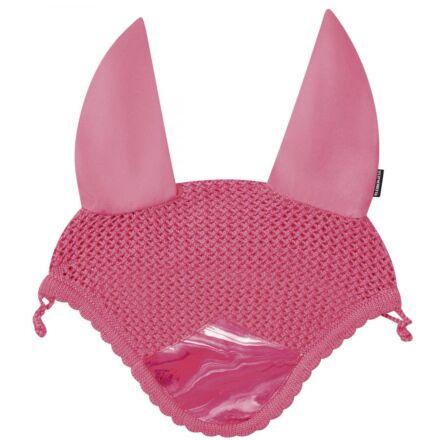 Weatherbeeta Prime Marble Ear Bonnet - Pink Swirl Marble Print