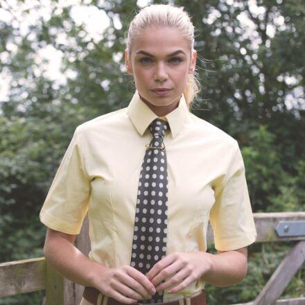 Equetech Flexion Show Shirt Soft Yellow