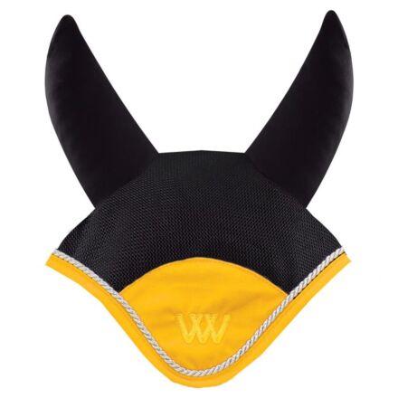 Woof Wear Ergonomic Fly Veil Black/Sunshine Yellow