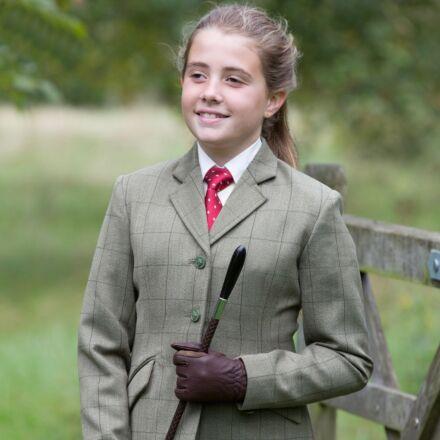Equetech Junior Foxbury Classic Tweed Riding Jacket
