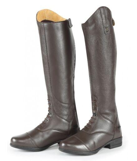 Moretta Gianna Riding Boots Brown