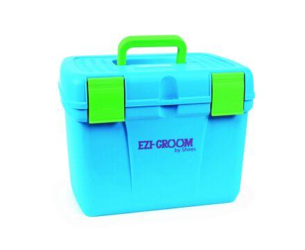 Shires Ezi-Groom Deluxe Grooming Box Blue