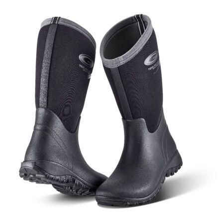 Grubs Tideline Wellington Boot Black