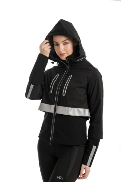 Horseware H20 Ladies Reflective Jacket Black