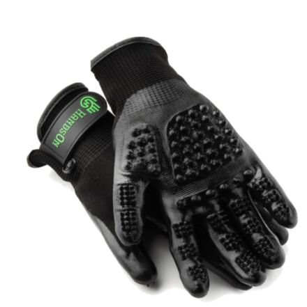 Hands On Grooming Gloves Black