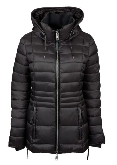 Weatherbeeta Harper Quilted Coat Black