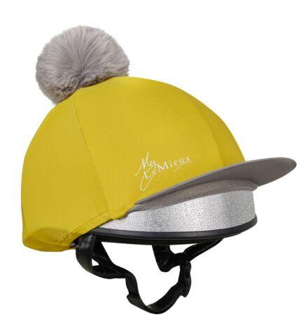 LeMieux Pom Pom Hat Silk Dijon
