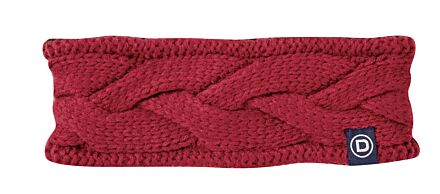 Dublin Headband Deep Crimson Red