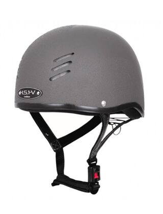 Gatehouse HS1-V Skull Riding Hat - Anthracite Grey