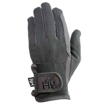 Hy5 Children's Everyday Riding Gloves Black