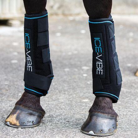 Horseware Ice Vibe Boot Black/Aqua