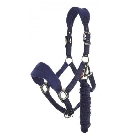 LeMieux Vogue Fleece Headcollar & Leadrope Ink Blue / Navy