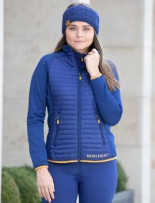 Bridleway Jenny Insulated Jacket-Navy