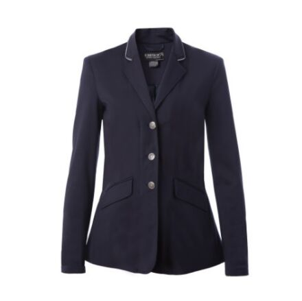 Equetech Junior Jersey Deluxe Competition Jacket Navy