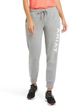 Ariat Women's Real Jogger Sweatpants Grey
