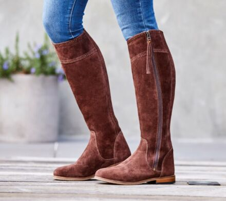 Dublin Kalmar SD Tall Boots - Chocolate