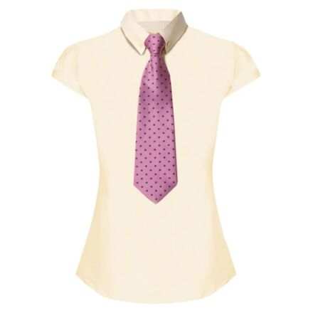Equetech Lace Show Shirt- Buttermilk