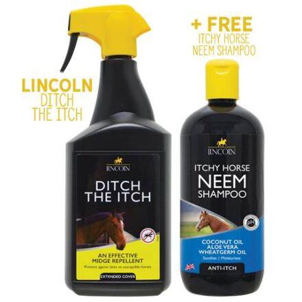 Lincoln Ditch the Itch & Neem Shampoo Bundle