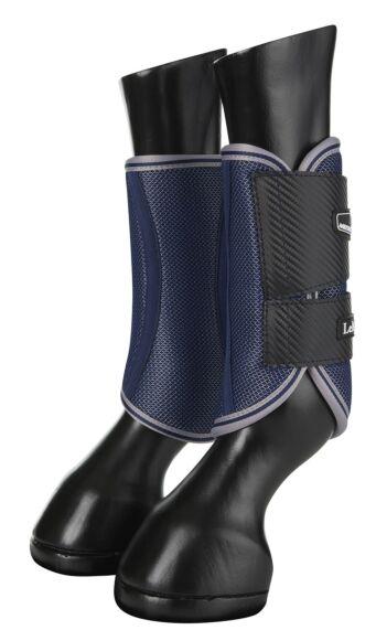 LeMieux Carbon Mesh Wrap Boots Navy