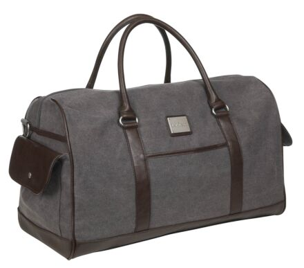 LeMieux Luxury Canvas Duffle Bag Grey