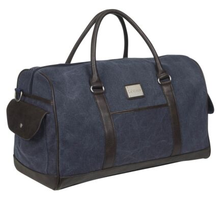 LeMieux Luxury Canvas Duffle Bag Navy