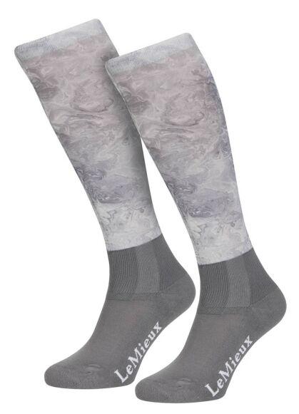 LeMieux Glacé Socks Junior Grey