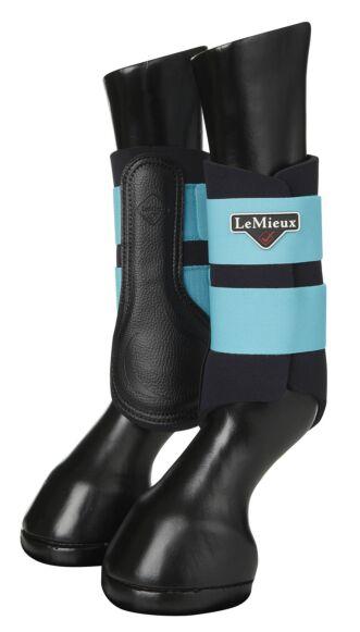 LeMieux Grafter Brushing Boots Azure