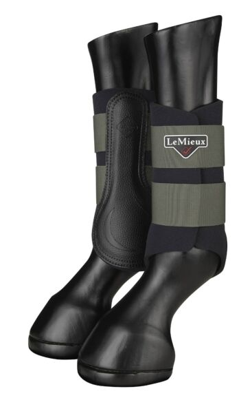 LeMieux Grafter Boots Oak