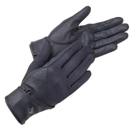 LeMieux ProTouch Mesh Riding Gloves -Navy