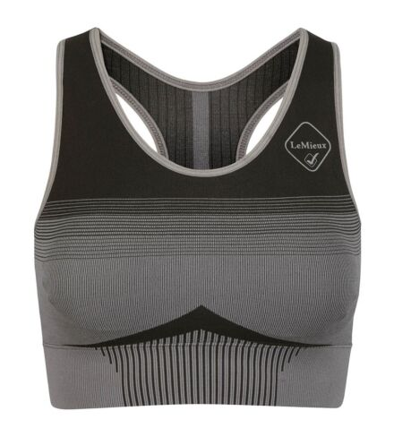 LeMieux Activewear Sports Bra Grey