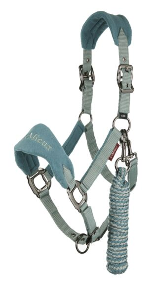LeMieux Vogue Fleece Headcollar & Leadrope Sage