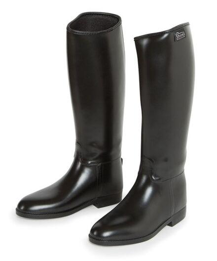 Shires Long Waterproof Riding Boots Black