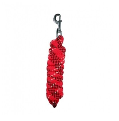 Woof Wear Contour Leadrope- Red
