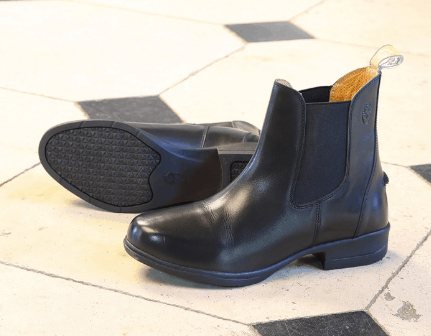 Shires Moretta Lucilla Childs Jodhpur Boots Black