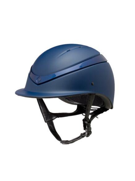 Charles Owen Luna Riding Helmet Navy/Gloss