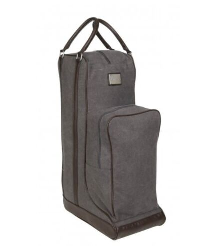 LeMieux Luxury Canvas Boot Bag - Grey