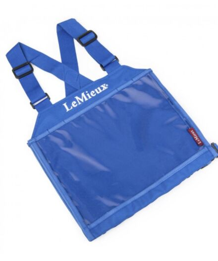 Eventing Bib with Magnetic Numbers Benetton Blue