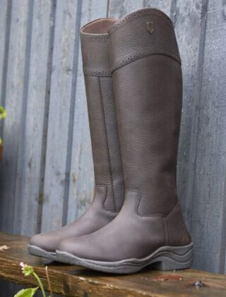 Just Togs Meadow Country Rider Boots - Brown