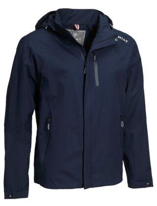 Ariat Men's Coastal Waterproof Jacket Navy