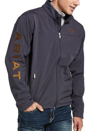 Ariat MEN'S New Team Softshell Jacket-Periscope