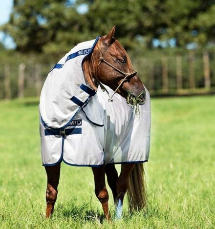 Horseware Pony  Mio Fly Rug Bronze/Navy