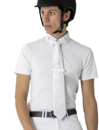 LeMieux Monsieur Competition Shirt White